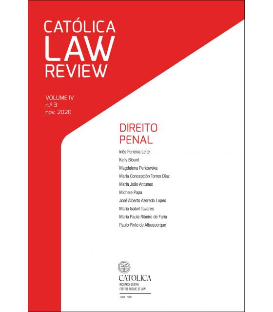CATÓLICA LAW REVIEW Vol.4 Nº3