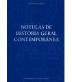 NÓTULAS DE HISTÓRIA GERAL CONTEMPORÂNEA